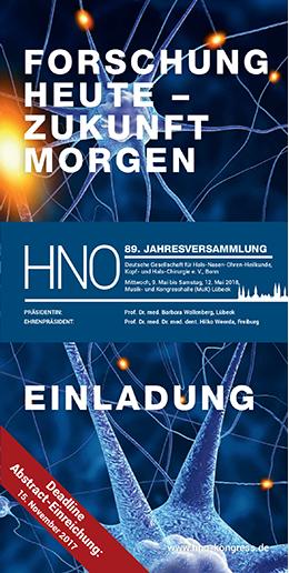Deutsche Gesellschaft für Hals Nasen Ohren Heilkunde Kopf und
